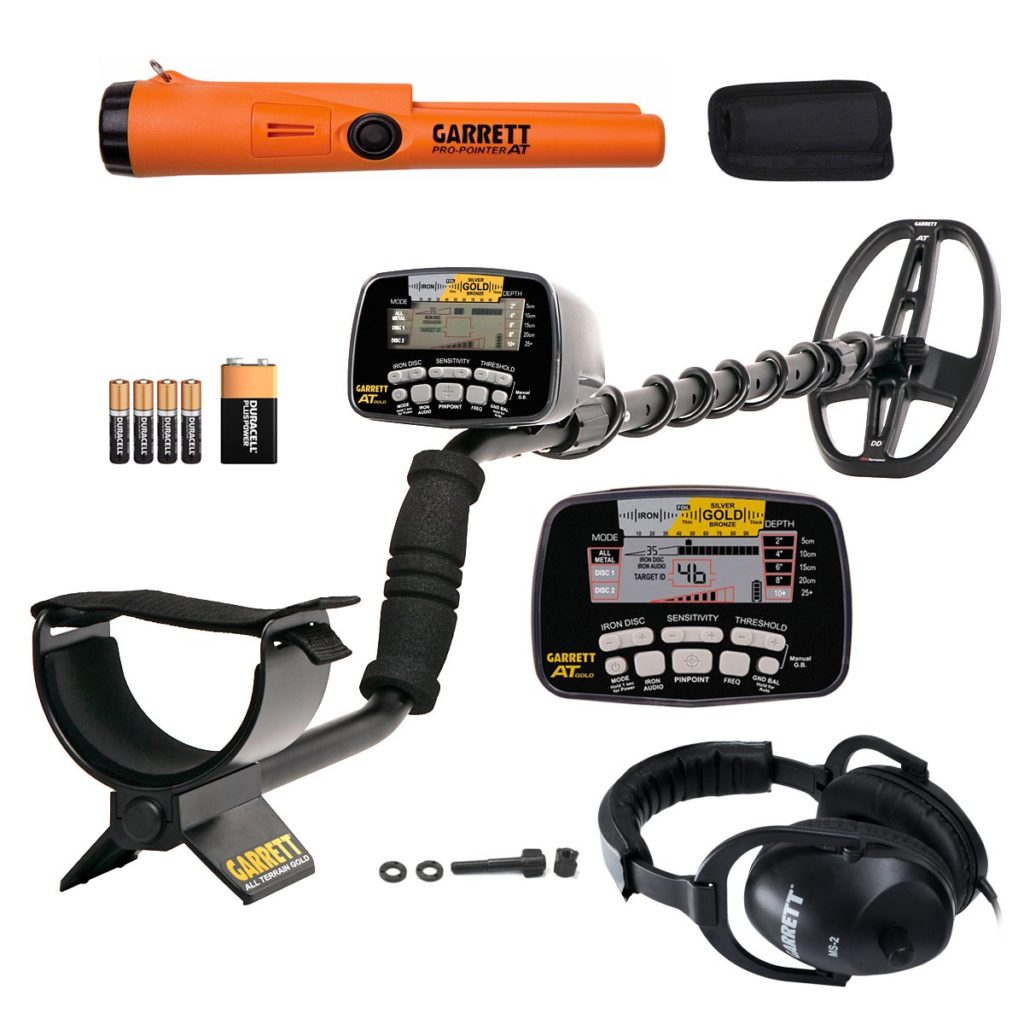 Garrett AT Gold Waterproof Metal Detector