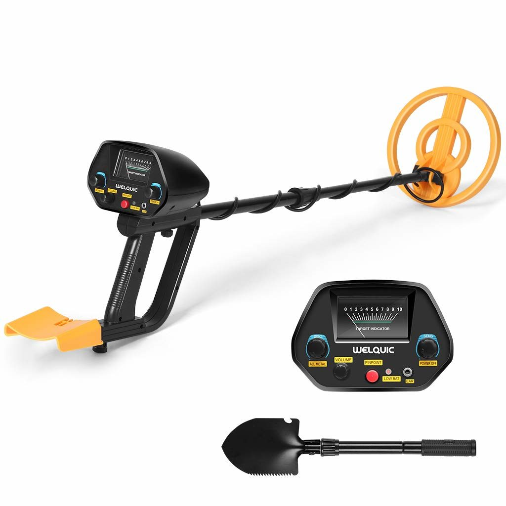 Best metal detector for the money WELQUIC