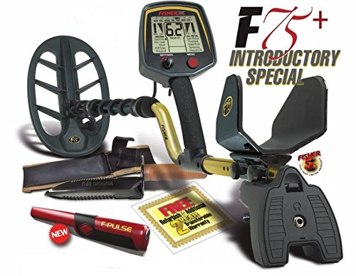 Fisher 75+ metal detector