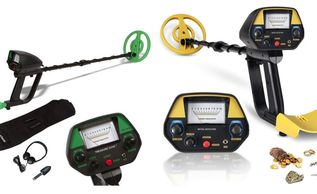 Best entry level metal detector featured