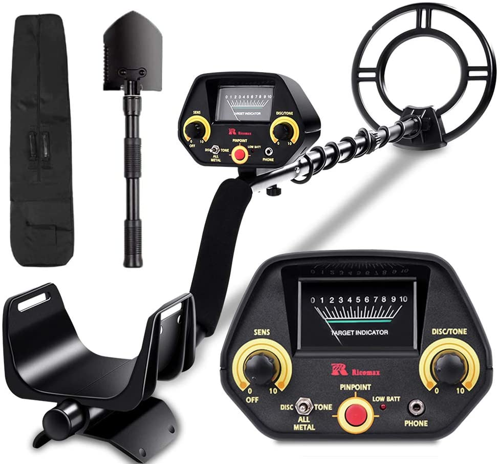 Best entry level metal detector RM RICOMAX