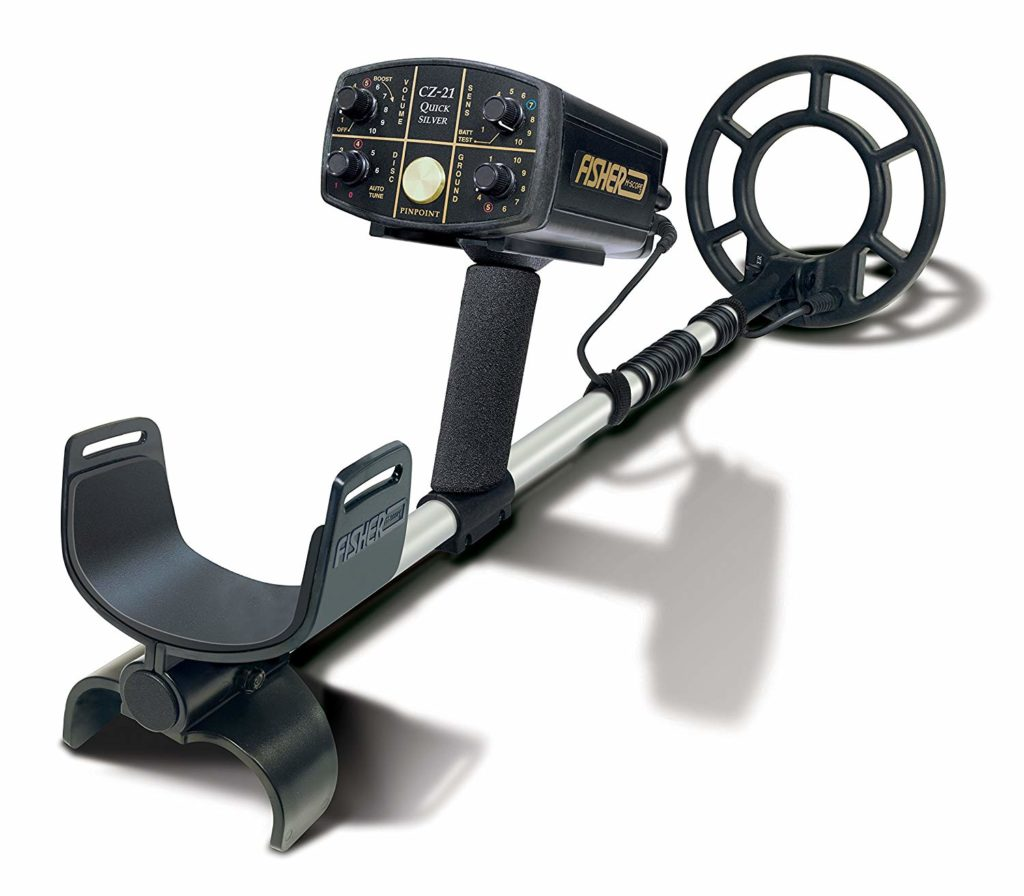 Best metal detector for beach Fisher CZ21-8