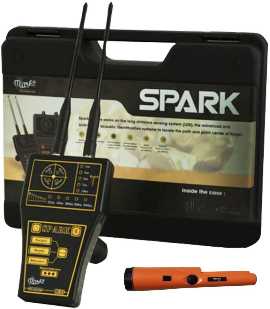 MWF Spark Long Range Metal Detector