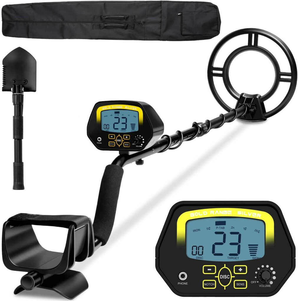 Sakobs Higher Accuracy Adjustable Metal Detector
