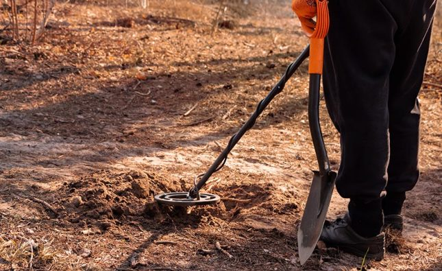 How do you use a metal detector for beginners?