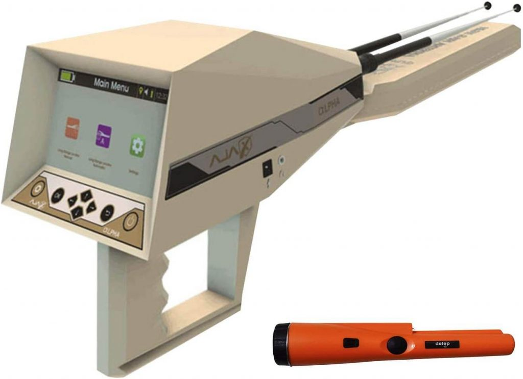 AJAX DETECTION Underground Treasure Gold Detector with Pin Pointer