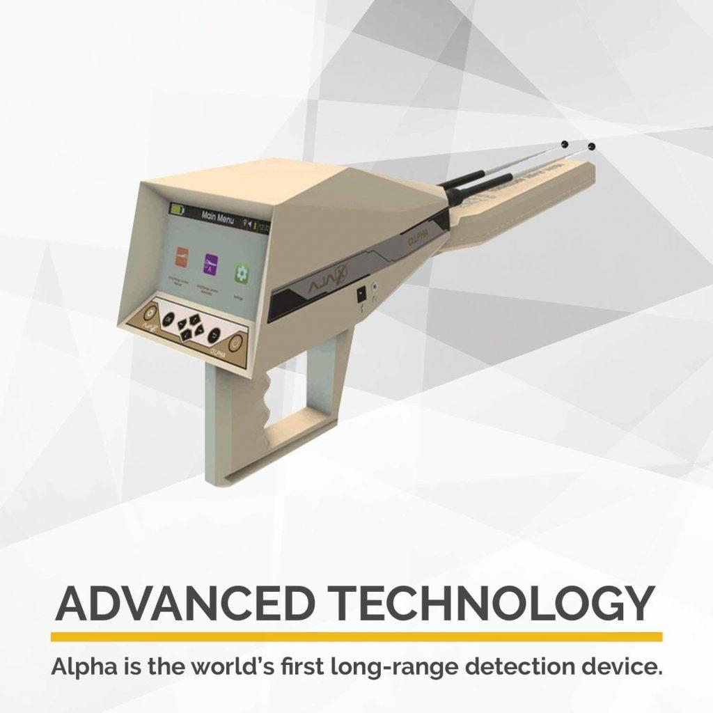 AJAX DETECTION Professional Metal Detector